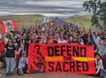 Standing rock defend sacred