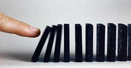 Triggering domino effect