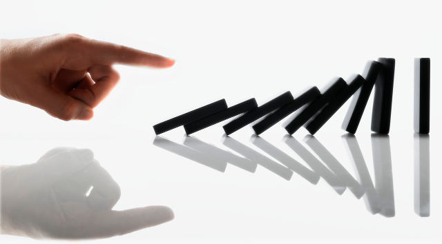 Start the domino effect