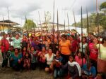 Indigenous amazonians stopping oil